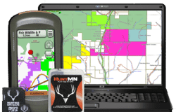 hunting gps maps