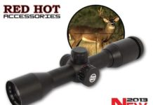 RED HOT 1X Illuminated Multi-Reticle Scope