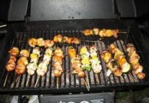 Goose Kebabs