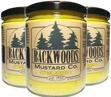 Backwoods Mustard Sweet Jalapeno - Backwoods Mustard is made in Michigan