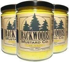 Backwoods Mustard Sweet Jalapeno - Backwoods Mustard is made in Michigan
