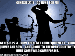 Genesis 27:3 - Go Hunt for Me