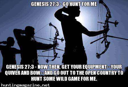 Genesis 27:3 - Go Hunt For Me