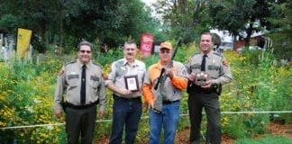 Steve Rykhus, 2014 firearms safety instructor of the year