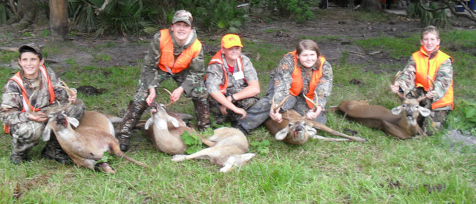 """""""Youth can hunt with a mentor in a special season that's all about putting the attention on the youth during the whole hunting experience,"""""""