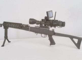 Digital Crosshairs New Smart Phone Interface for Night Vision and Thermal Rifle Scopes