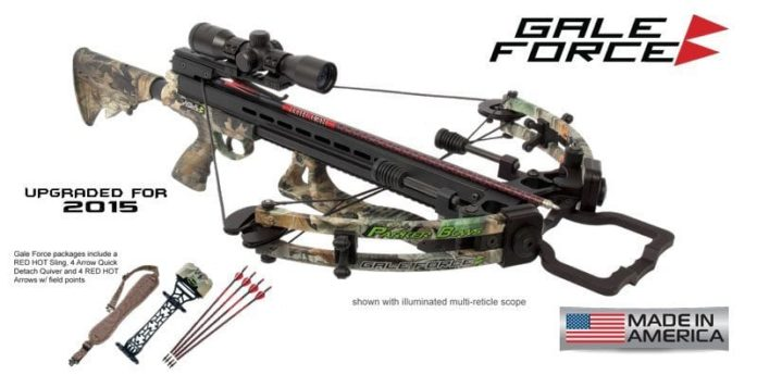 Parker Bows Gale Force Crossbow