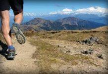Running in Rocky Mts