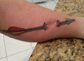 Muzzy Archery Tattoo
