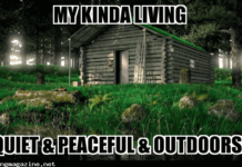 My Kinda Living - Cabin Life Meme