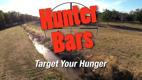 Hunter Bars - Energy Bars for Outdoorsmen