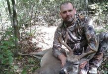 Bill Lee Smalls with Archery Kill Buck