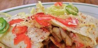 wild game recipes - pheasant or turkey Fajitas
