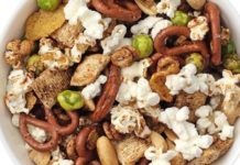 Sweet 'n Savory Popcorn Trail Mix