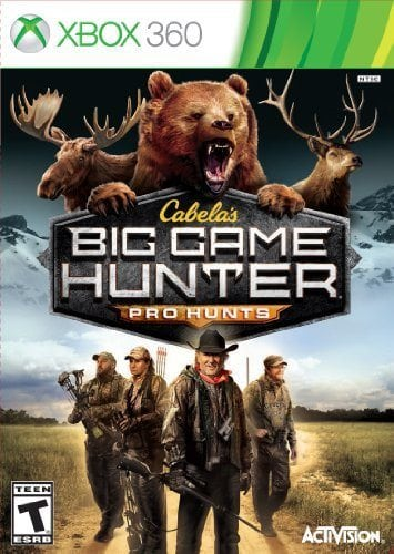 Cabelas: Big Game Hunter Pro Hunts – Xbox 360