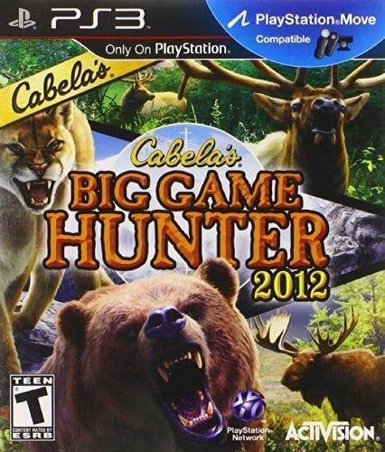 Cabela's Big Game Hunter 2012 SAS – Playstation 3