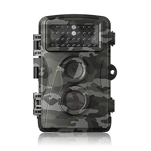 Flinelife HD 12MP Game and Trail camera for Deer Hunting , Perfect Day&Night Captures with Low Glow Black Infrared, 0.6 second Trigger Speed Digital Surveillance Camera + DHL Shipping