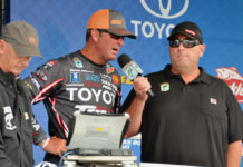 Gerald Swindle-Mille Lacs Lake Bassmaster tournament