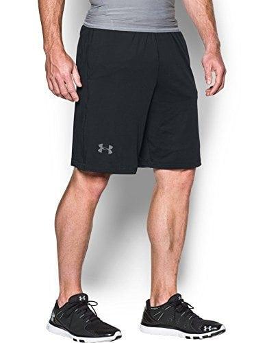 Under Armour Men's Raid 10″ Shorts, Black/Grey (001), Large