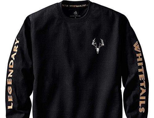 Legendary Whitetails Men's Legendary Non-Typical Long Sleeve T-Shirt Black X-Large