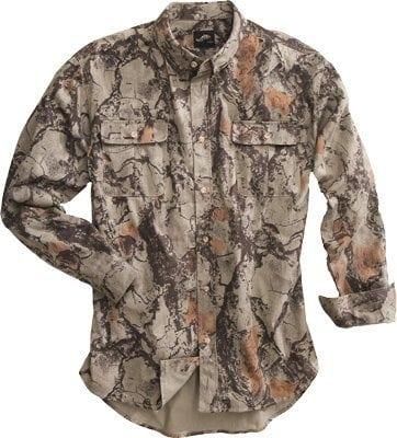 Natural Gear Camo Bush Shirt XL 101-XL Natural