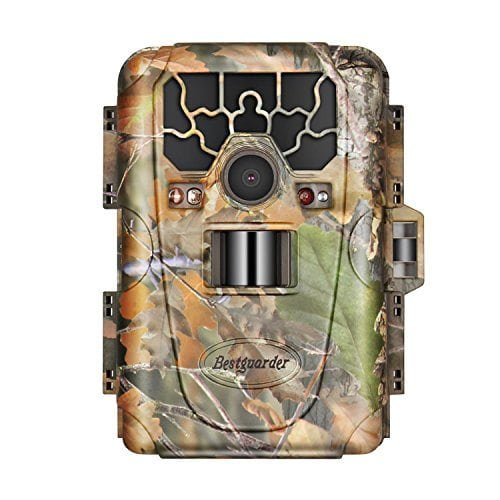 Bestguarder 12MP 1080P HD Waterproof IP66 Infrared Night Vision Game & Trail Hunting Camera Scouting Camera Night Vision up to 75ft with 36pcs 940nm IR LEDs
