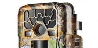 Flexzion Game and Trail Hunting Scouting Camera – 12MP 1080P HD, IP66 Waterproof, PIR Motion Detection Sensor, Wide Angle Infrared Night Vision, Time Lapse Video Audio Digital Recording Surveillance