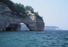 Lake Michigan water