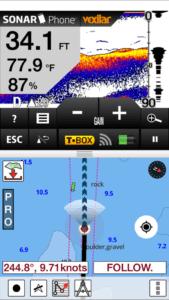 i-Boating: Fishingsonar Screenshot iphone 6 Plus