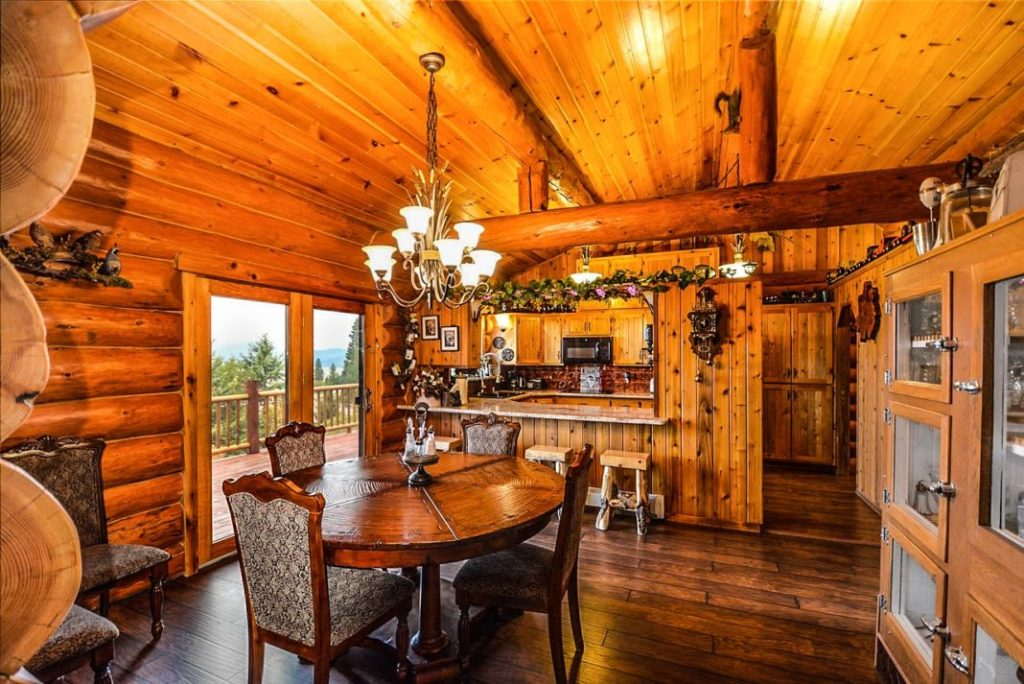 Is a custom-built log home in rural or remote location right for you?