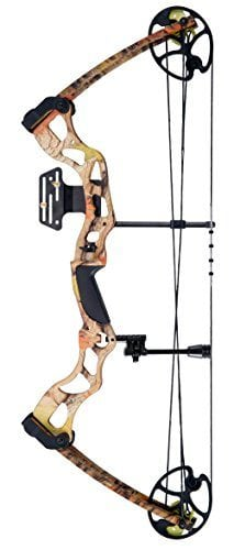 Leader Accessories Hunting Bow 50-70lbs w/310fps in Autumn Camo