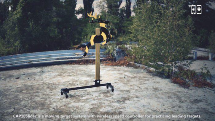 CAP10Slider Moving Shooting Target