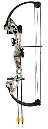 Bear Archery Brave Bow Set, APG Camo, Right