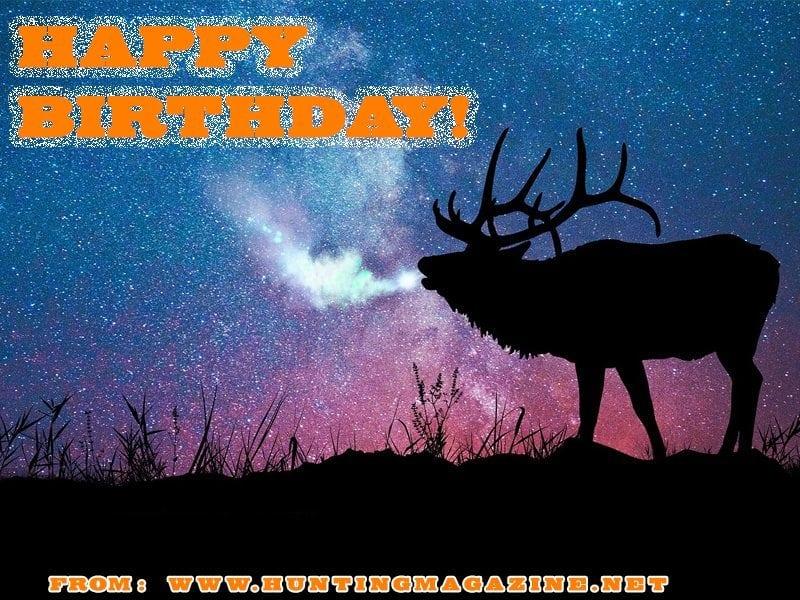 Elk Hunting Meme: Happy Birthday