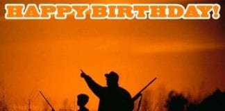 Waterfowl Hunting Meme: Happy Birthday from Hunting Magazine