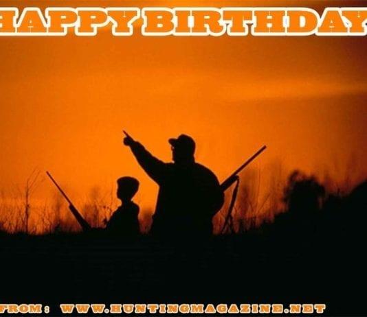 Waterfowl Hunting Meme: Happy Birthday from Hunting Magazine
