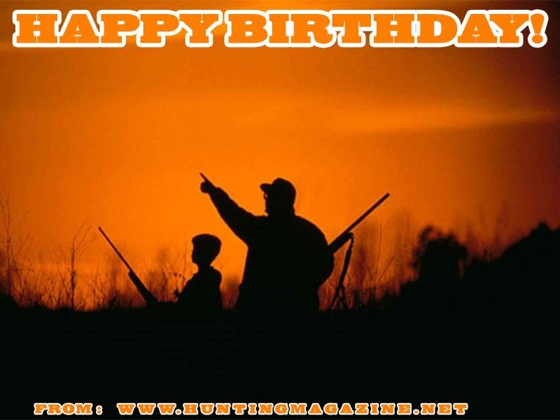 Waterfowl Hunting Meme: Happy Birthday