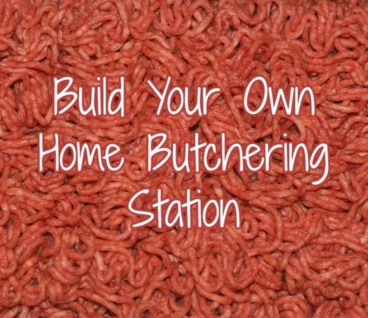 Build Your Own Home Butchering Station