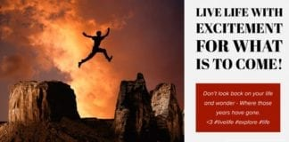 Meme: Live Life with Excitement For What is to Come by Hunting Magazine