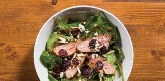 Cherry-Glazed Duck Breast Salad
