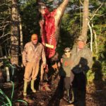2015 Photo from Cape Breton, while on a family hunting trip weekend. We took a 17-point Moose. The Moose was shot with a Browning 308 Lever Action Rifle. Pictured are: Darrel Garrison, Ryan Garrison and Brandon Ryan.