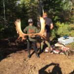 Another photo from our 2015 Cape Breton family moose hunting trip weekend. We took a 17-point Moose. The Moose was shot with a Browning 308 Lever Action Rifle. The hunters that day were: Darrel Garrison, Ryan Garrison and Brandon Ryan.