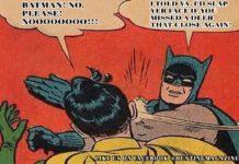 Batman Slaps Robin Hunting Meme