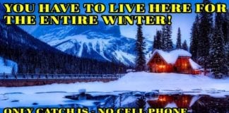 Hunting Meme: Could You Live Here an Entire Winter?