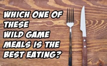 Which one of these Wild Game dishes is the Best Eating?