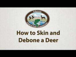 Video: How to Skin and Debone a Deer