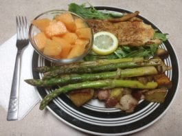 Wild Game Recipe: Alaskan Cod Fish Fillet with Fresh Vegetables and Fruit | Hunting Magazine