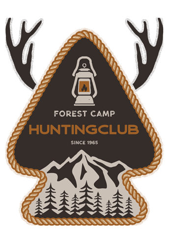 Forest Camp Hunting Club Embroidered Patch for Hat | Hunting Magazine