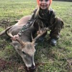 Young hunter poses with a great buck taken during Youth Weekend Deer Hunt | Hunting Magazine