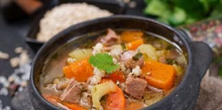 Hearty Venison Pearl Barley Vegetable Soup with Pumpkin Bites | Hunting Magazine